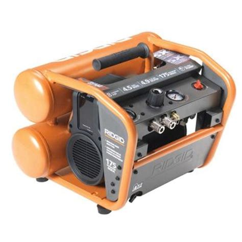 ridgid 4 5 gal electric air compressor reconditioned