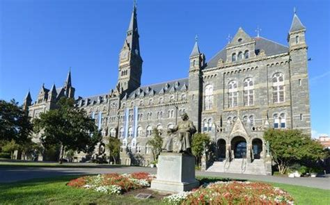 Georgetown Mba Application Fee by Study In Washington Dc Top Universities Autos Post