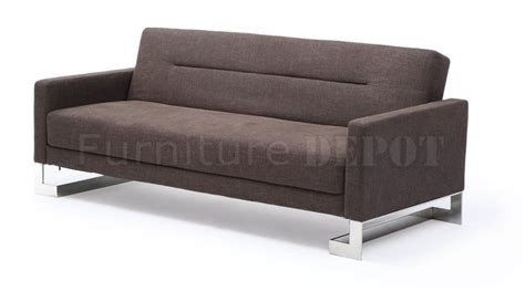 light grey sofa bed m143 sofa bed in brown or light gray fabric by at home usa
