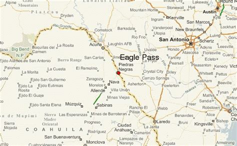 map of eagle pass texas eagle pass location guide