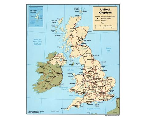 united kingdom map with cities maps of united kingdom detailed map of united kingdom in