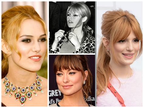 rectangle face shape hairstyles square shaped face with bangs www pixshark com images