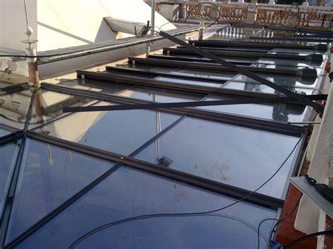 techo acristalado foto techo acristalado con motor para apertura parcial y