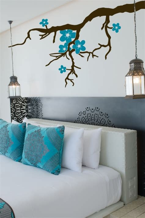 teal wall stickers wall decal enchanting ideas with teal wall decals teal wall decals leafy winter tree wall