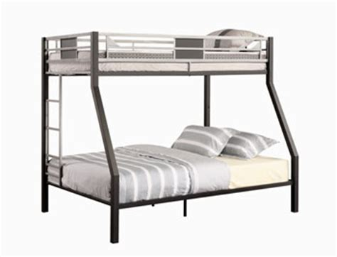 amazon bunk beds twin over full amazon com dhp screen twin over full bunk bed silver
