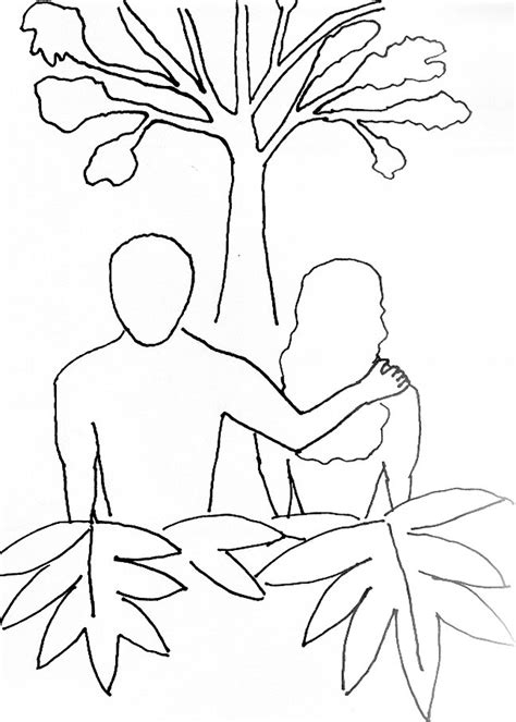 Coloring Page Adam And by Lds Adam And Lds Coloring Pages Adam And Lds