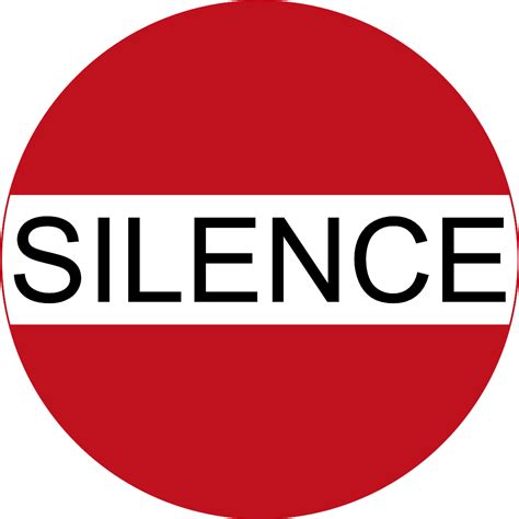 silence clipart the gallery for gt silence clipart