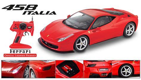 Rc 458 Racing Car Scale 114 licensed 1 10th scale 458 italia rtr car rc remote radio car