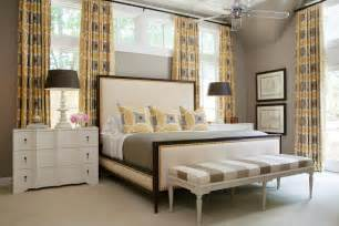 yellow and gray bedroom curtains photo page hgtv