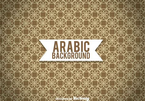 arabic background pattern free download arabic ornament brown background download free vector