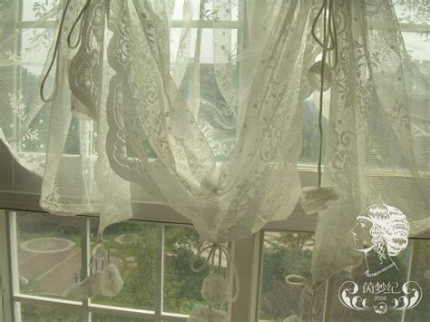 sheer balloon curtains french country lace austrian balloon shade sheer voile