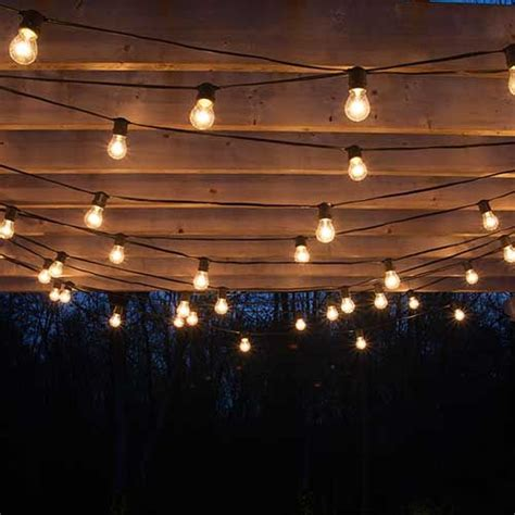 How To Plan And Hang Patio Lights Patio Lights Outdoor