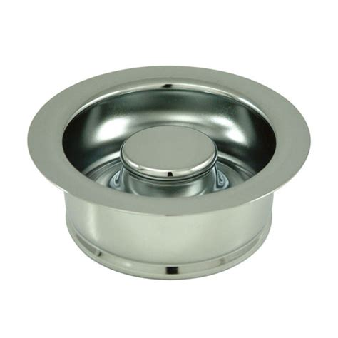 kitchen sink accessories chrome garbage disposal flange
