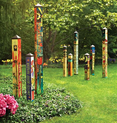 quot love garden quot 6 peace pole pp215 183 quirks of art 183 online