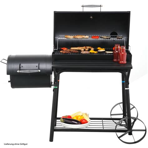 Feuerwanne Grill by Design Smoker Cing Holzkohlegrill Barbecue Grill