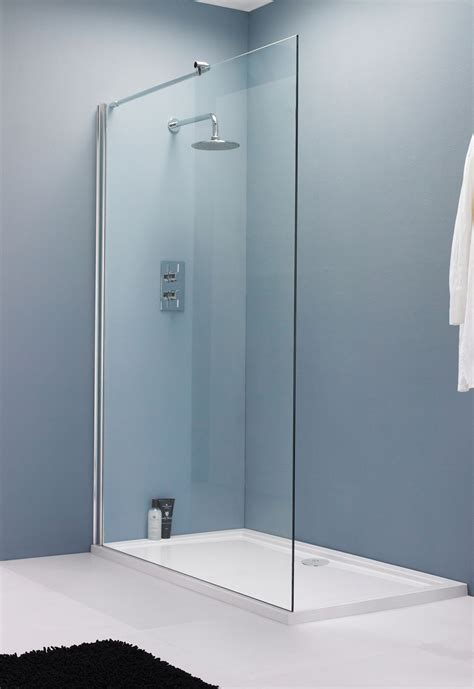 Glass Shower Panels For Bathrooms 2 Things You Should Check When Buying Glass Shower Panels Bath Decors