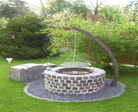 Feuerstelle Grill Garten by Best 25 Feuerstelle Selber Bauen Ideas On