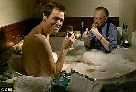 madcap jim carrey takes  bath   david letterman show