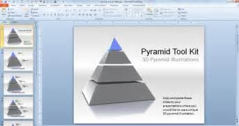 Powerpoint Pyramid Template by 3d Pyramid Powerpoint Templates Toolkit Powerpoint