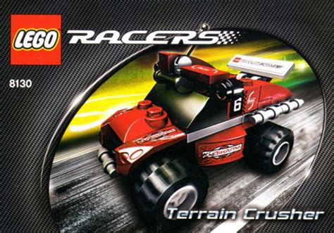 lego racers tutorial 8130 1 terrain crusher brickset lego set guide and