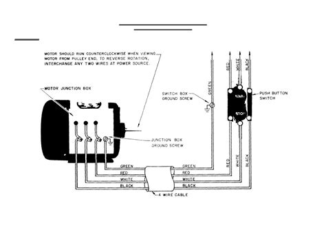 push button manual switch for three phase motors