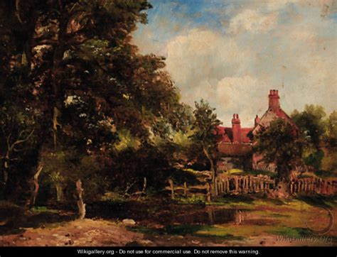 Cottage Frederick by A Cottage In A Wooded Landscape After Frederick William Watts Wikigallery Org The Largest