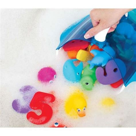 munchkin bathtub munchkin kids bath toy drain and storage scoop wall