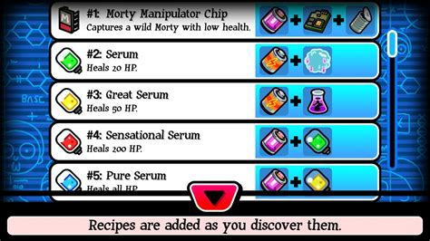 turbulent juice pocket mortys crafting recipes guide clashin com