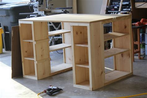 how to make a desk taller what i have been up to shanty 2 chic