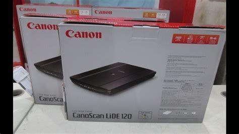 Canoscan Lide 120 Scanner canon canoscan lide 120 scanner unboxing