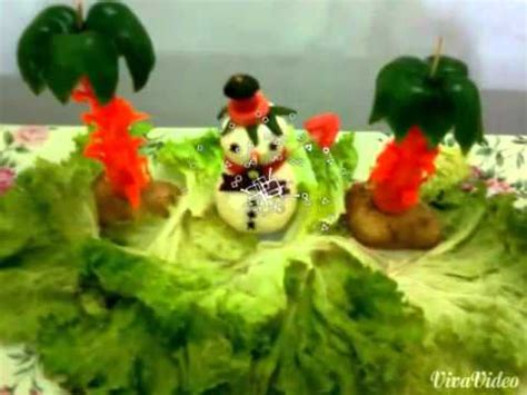 salad decoration at home salad decoration home youtube