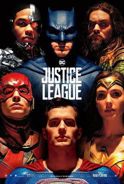 Poster Justice League Aquaman 21 Ukuran 60x90cm Superman Finally Gets Included In A Justice League