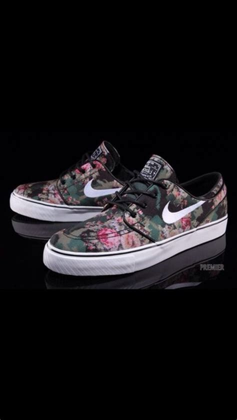 flower pattern janoski shoes nike floral nike airs colour pattern flowers