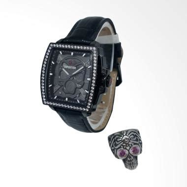 Jam Tangan Alba Vintage Kulit Set Black Gold harga jam tangan expedition black jam simbok