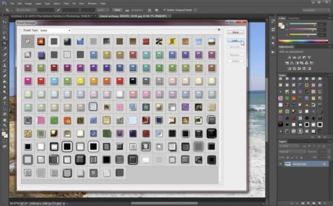 photoshop pattern presets how to install free photoshop presets