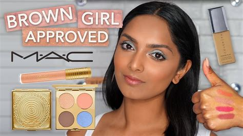 Brown Padma brown approved mac x padma lakshmi coverfx