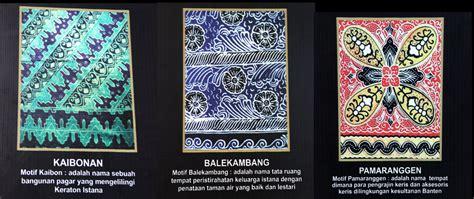 Golok Sembelih Motif Batik Banten motif batik banten tak boleh makhluk hidup oleh gapey