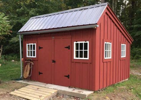 saltbox shed customized shedbuildingkit
