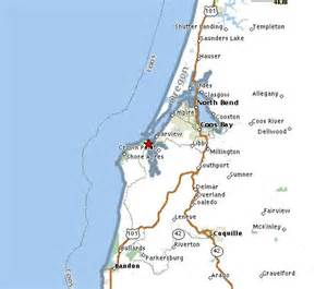 charleston oregon map directions to oregon site