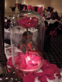 beauty and the beast inspired centerpiece pic wedding centerpiece disney diy romantic roses