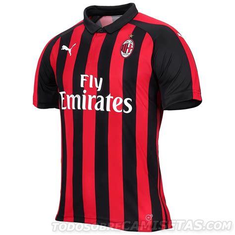 Ac Milan 19 ac milan 2018 19 home kit todo sobre camisetas