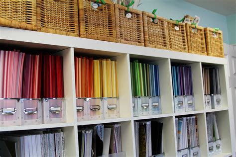 Craft Paper Storage Ideas - craft room organization and storage ideas the idea room