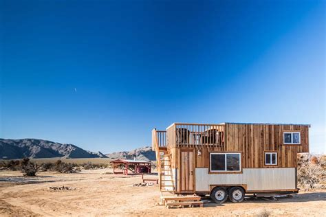 Tiny Cabins by Tiny House With Rooftop Deck 3