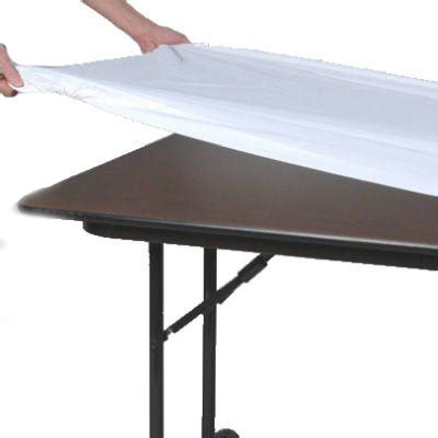 poly premier elastic tablecloths 18 quot x 60 quot rectangle top