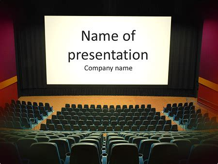 Movie Theater Powerpoint Template Funkyme Info Microsoft Powerpoint Templates Theatre