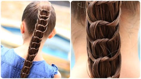 Cute Girl Hairstyles Knot | the knotted ponytail hairstyles for girls cute girls