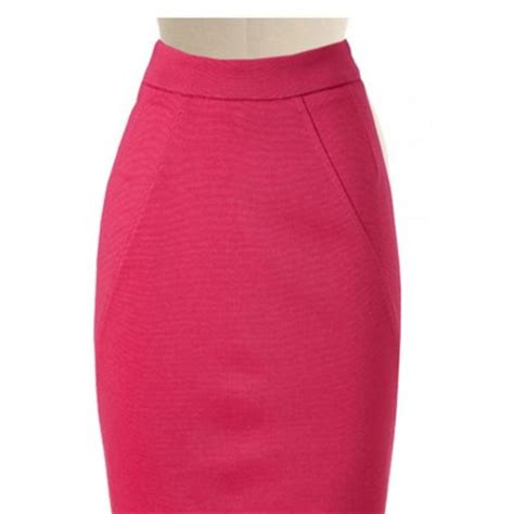 pink pencil skirt elizabeth s custom skirts