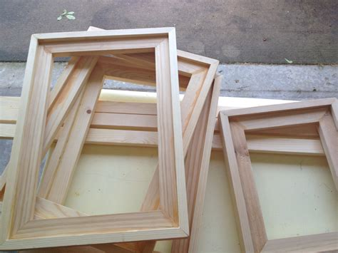 woodwork easy picture frame plans  plans
