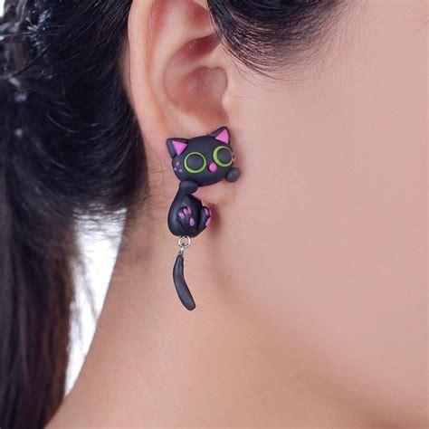 Cat Ear Stud 25 best ideas about animal earrings on