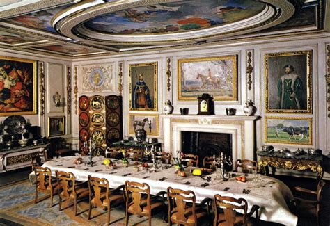 dolls house windsor the dining room of queen mary s doll house windsor castle flickr